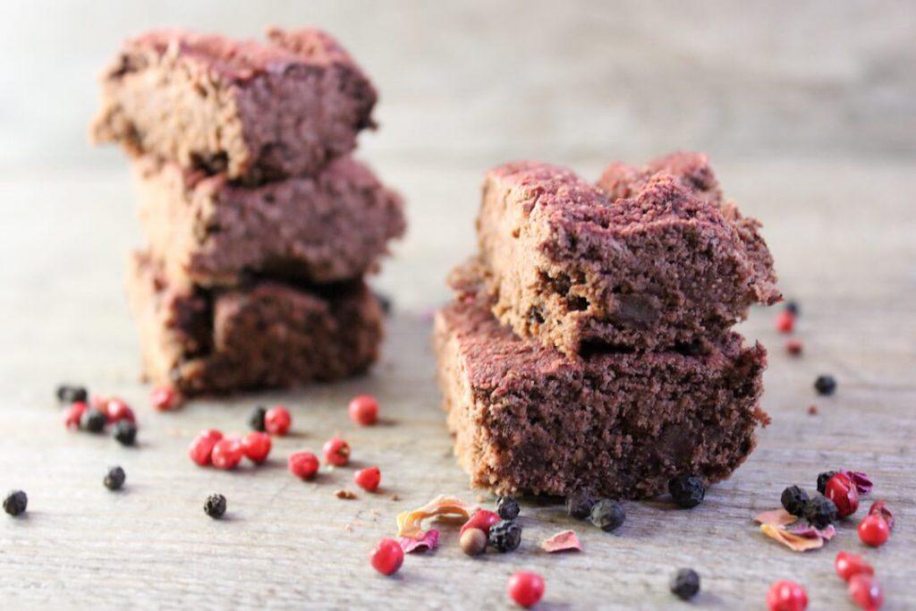 Rote Beete Brownies vegan Rezept7